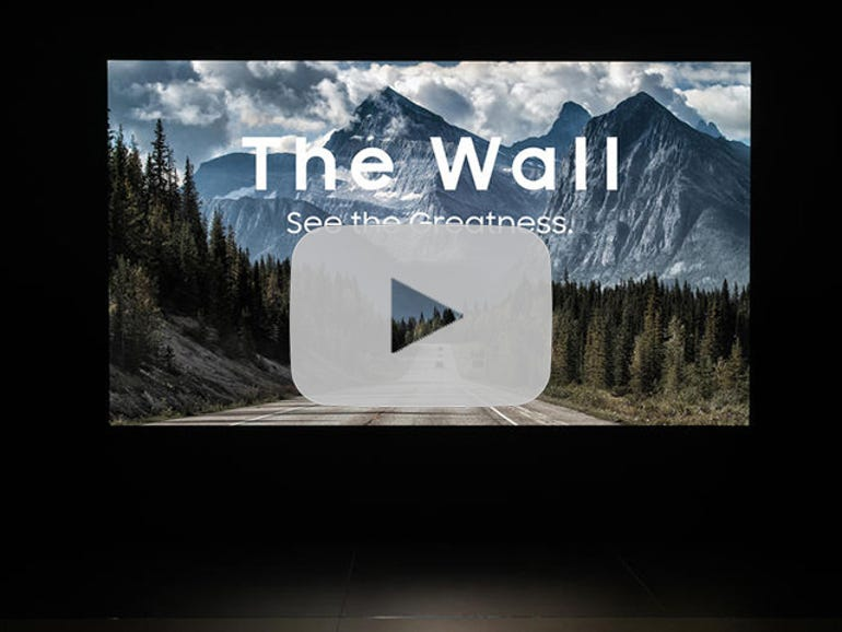 Samsung opens pre-orders for 'The Wall' MicroLED TV