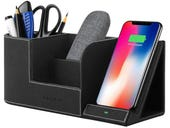 This desk organizer has a sexy Qi secret, and it's on sale