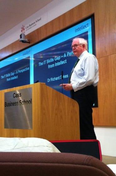 Intellect's Dr Richard Sykes