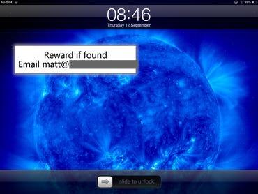 iOS - Lock screen