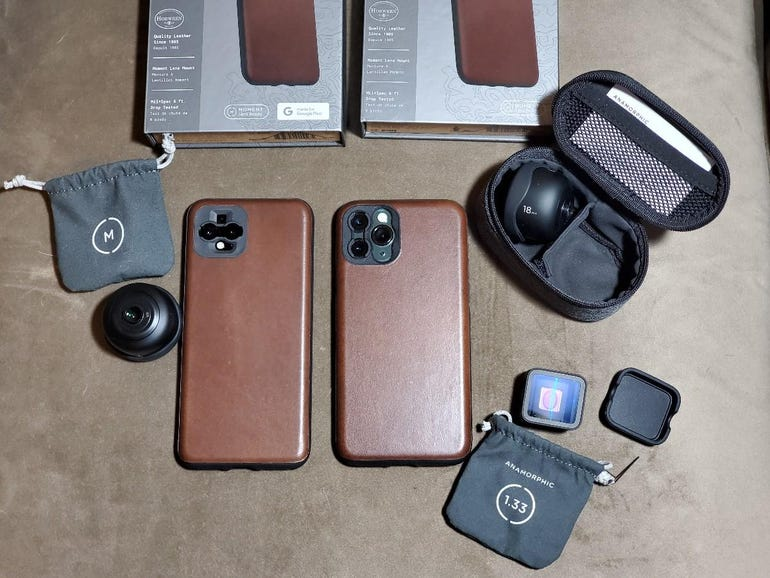 New Nomad Moment cases and Moment lenses