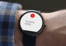 Google sets smartwatches with Android Wear OS (photos)