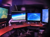 Using Parallels in Coherence mode on a four-monitor iMac