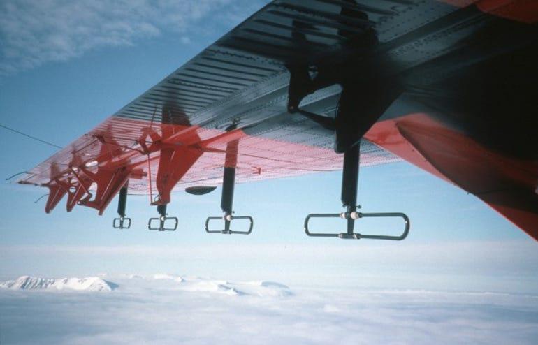 The BAS survey plane