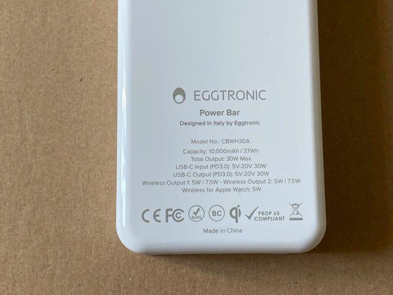 Eggtronic Power Bar