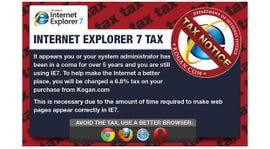 Australian online retailer Kogan is levying an IE 7 tax.