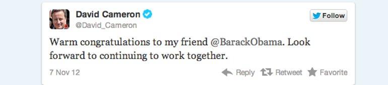 Twitter Blog: Election Night 2012