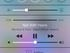Swipe up to reveal the Control Center