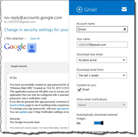 Gmail support is still limited
