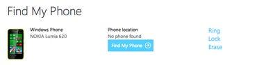 Windows Phone - Find my Phone