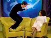 Tom Cruise on Oprah, jumping on her couch