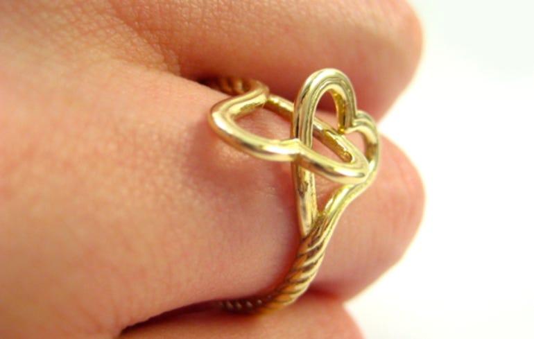 3D printed rings