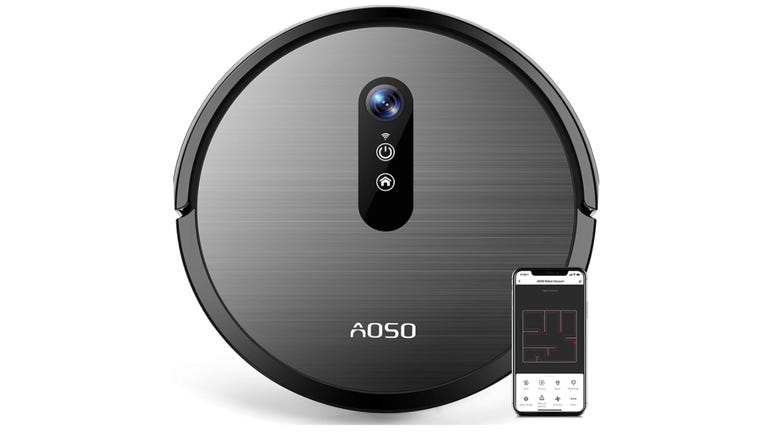 Aoso S3 robot vacuum review: fast and furious cleaning from an ultra-compact cleaner zdnet