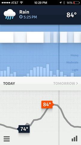 Gorgeous new weather app: Weathertron - Jason O'Grady