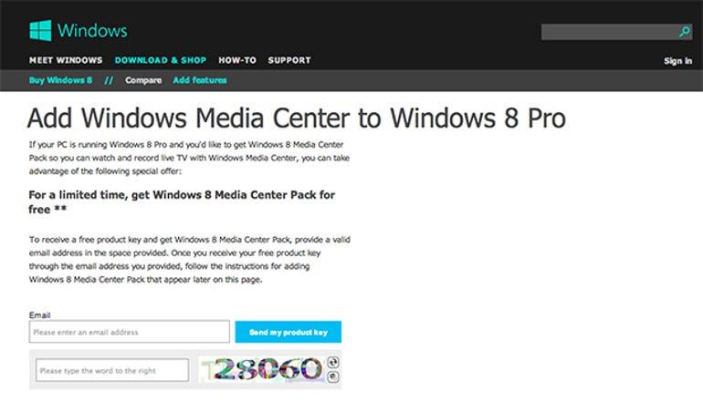 windows 8 for free legitimate pro crack key microsoft media center upgrade exploit
