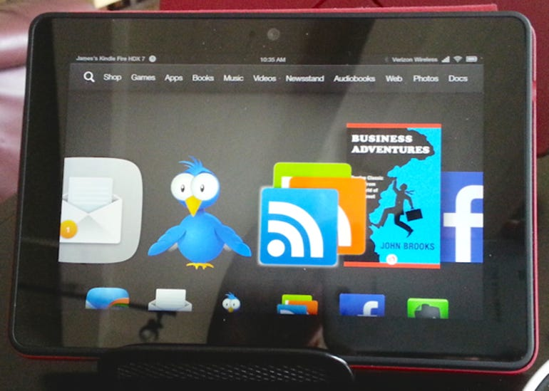 Tablet stand hack front