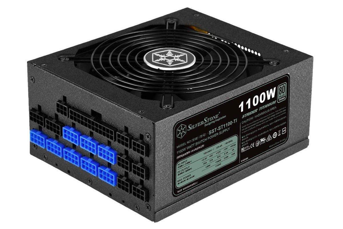 SilverStone SST-ST1100-TI 1100W ATX12V 80 PLUS TITANIUM Power Supply