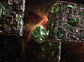 Borg ships: Best way to integrate acquisitions? Credit: CBS