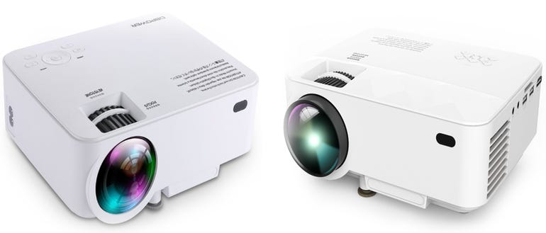 DBPower T21 projector hands on: Low cost and portable - but not right for business ZDNet