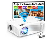 Dr J AK-50 Projector review: Stereo sound and 300 inch projection