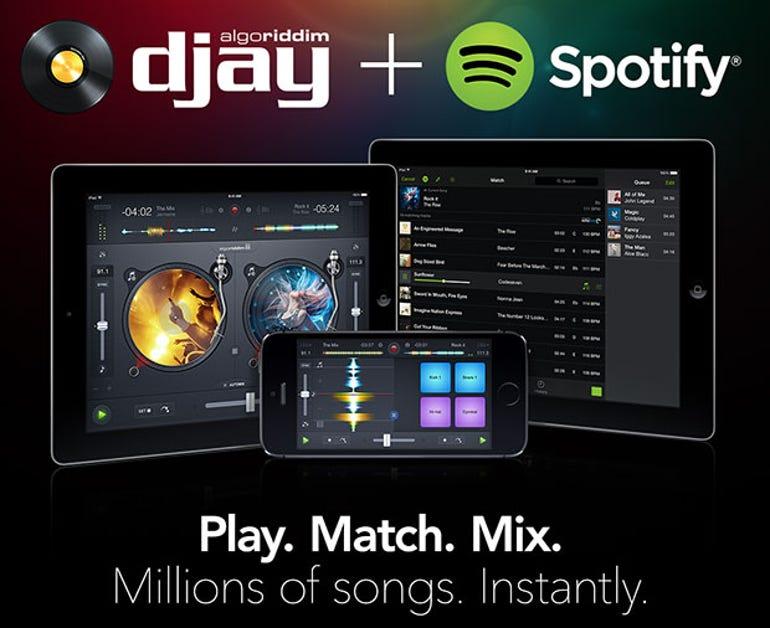 Algoriddim djay 2.5 adds Spotify support, 10M downloads - Jason O'Grady