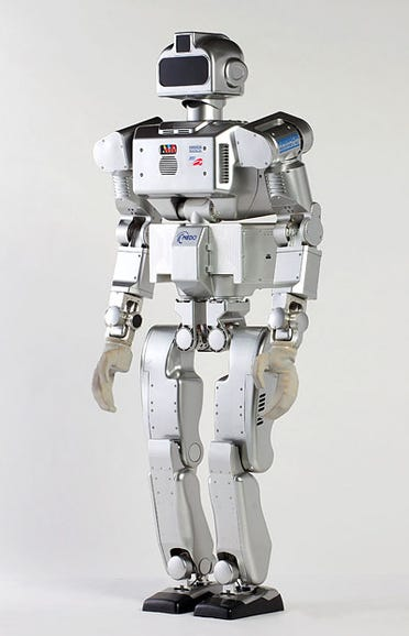 Photo: A robot for the hardhat world