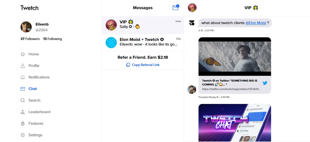 Blockchain based Twitter competitor Twetch releases encrypted chat app zdnet