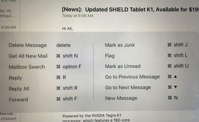 IPad Pro mail shortcuts.jpg