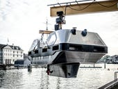 Robot taxi boats take to the water in Amsterdam