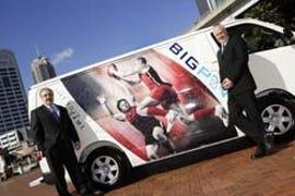 New Telstra's vans