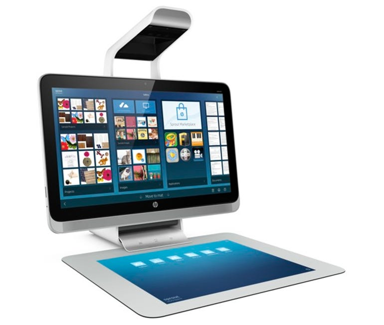 With Sprout HP bets on remaking the PC as a 3D maker tool