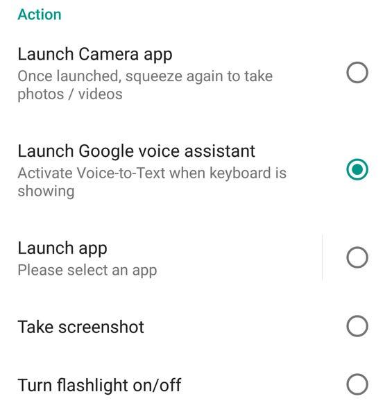 Setup launch options
