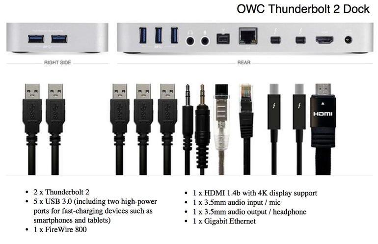 OWC Thunderbolt 2 Dock