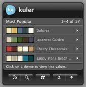 kuler OSX widget