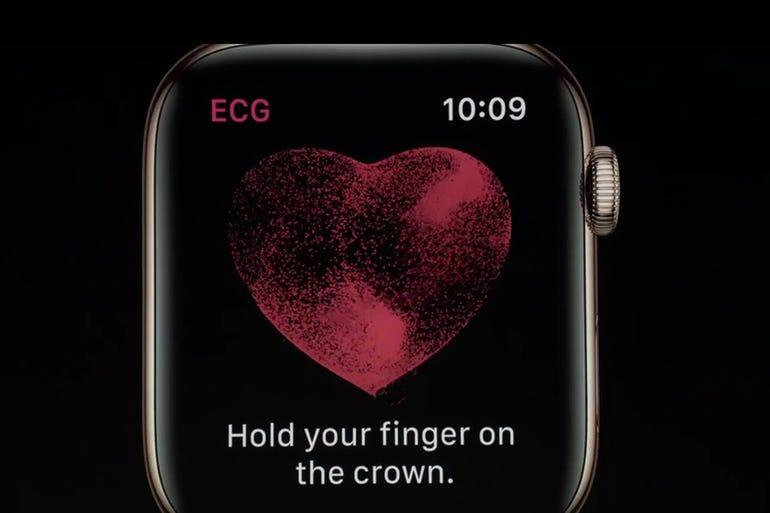 New Apple Watch: Built-in ECG scanner