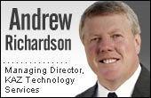Andrew Richardson, KAZ Technology Services
