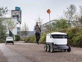 Delivery robots maneuvering to devour food delivery market