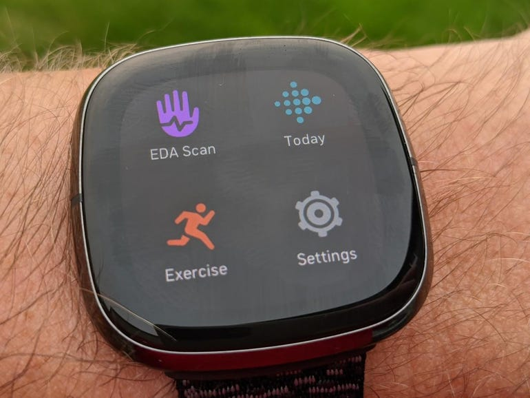 Apps on the Fitbit Sense