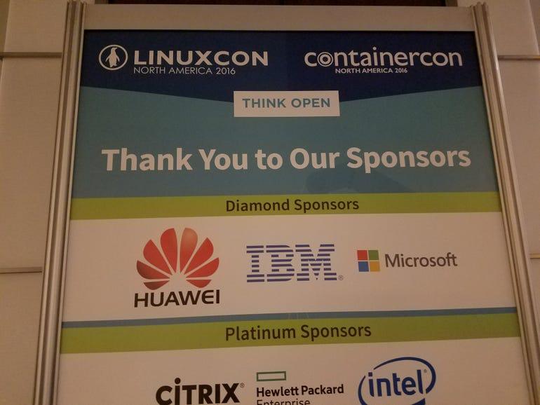 Microsoft LinuxCon