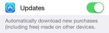 Automatic App Updates arrived in iOS 7 - Jason O'Grady