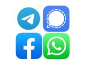 WhatsApp vs. Signal vs. Telegram vs. Facebook: What data do they have about you?
