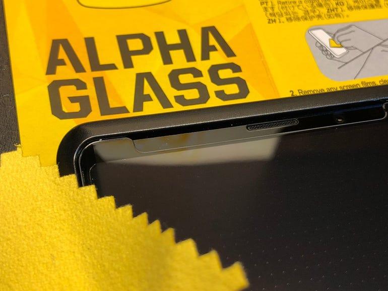 Alpha Glass screen wipe
