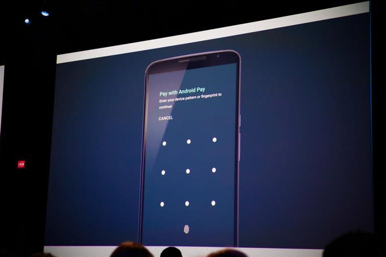 Android Pay with fingerprints