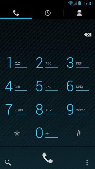 Phone dialer on Google Edition