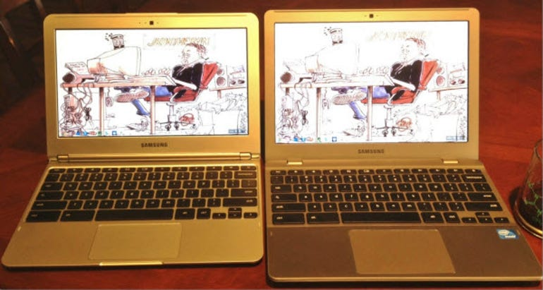 Tale of two Chromebooks