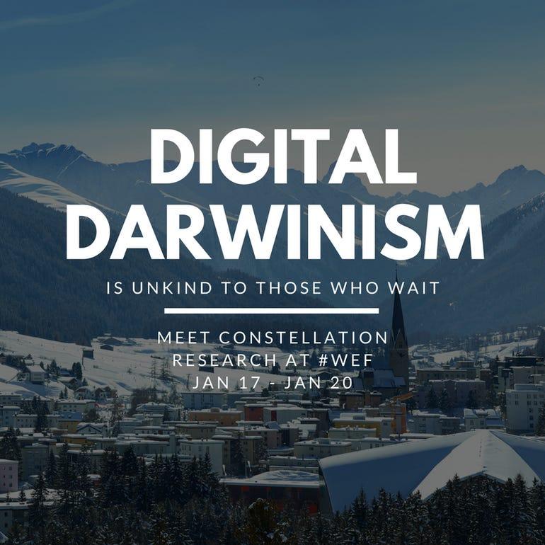Digital Darwinism Davos