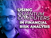 Using quantum computers in financial risk analysis