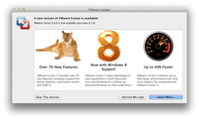 VMWare Fusion 5 optimized for Mountain Lion and Windows 8 - Jason O'Grady