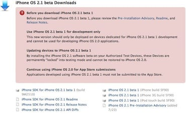 Rumor Mill: iPhone to get copy, paste and better navi in firmware 2.1