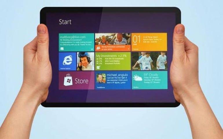 Windows RT tablets